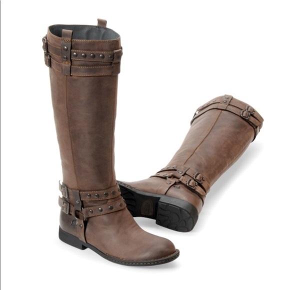 f5ad718377e Born Gwynne tall leather harness riding boots 9.5